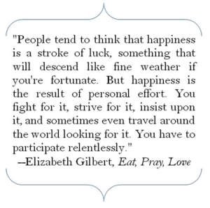 Eat Pray Love quote