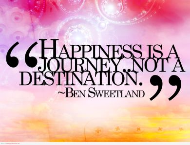 happiness-is-a-journy-quote