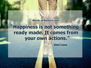happiness-is-created-from-your-own-actions