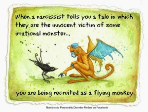 Narcissistic Mother Flying Monkeys Gail Meyers